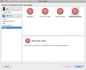 Xcode Aggregate Targets